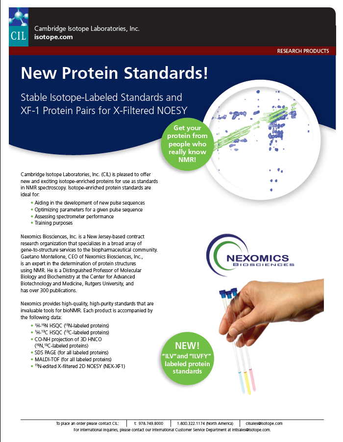 New Protein Standards image