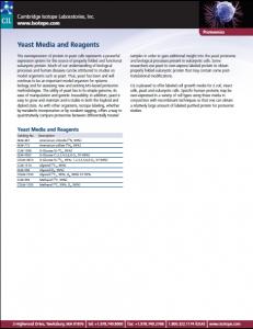Yeast Media image